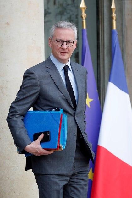 El ministro de Finanzas de Francia, Bruno Le Maire, se reunirá con su par argentino en Riad