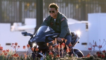 """Tom Cruise en una escena de la nueva """"Top Gun"""" (Grosby Group)"""