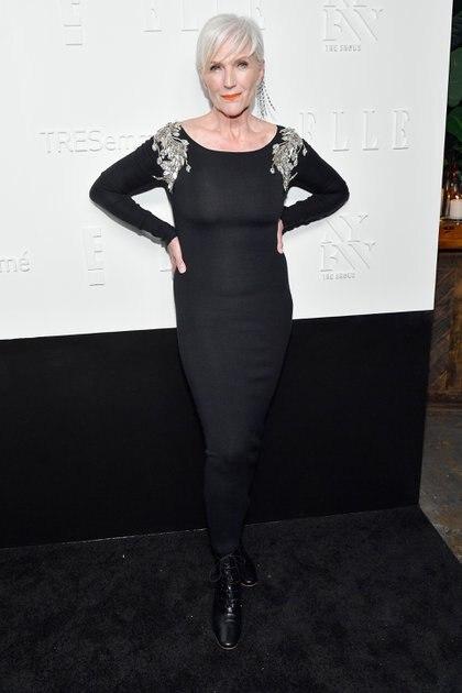 Maye Musk trabaja desde los 18 años en la industria de la moda y fue elegida Miss Sudáfrica en 1969