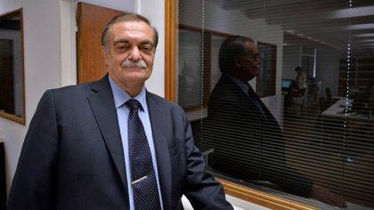 Alberto Lugones (Foto de archivo: Gustavo Gavotti)