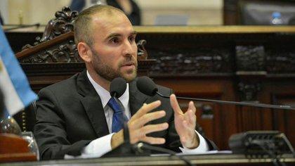El ministro de Economía Martín Guzmán