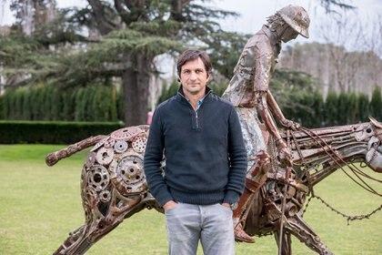 Eduardo Novillo Astrada, presidente Asociación Argentina de Polo (Matías Callejo / AAP)