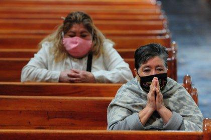 La arquidiócesis poblana fue la primera en el país en anunciar la defunción de dos párrocos en abril de 2020 (Foto: Daniel Augusto / Cuartooscuro)