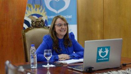Alicia Kirchner, gobernadora de Santa Cruz (Frente de Todos).