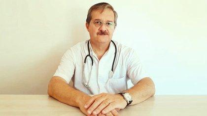 El doctor Jorge Ramacciotti es el jefe de terapia intensiva del hospital Padilla