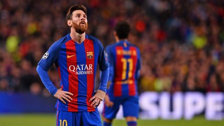 Messi no tuvo un buen desempeño ante la Juventus pero el Camp Nou mostró su  apoyo e8673d40201da