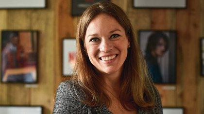 Kelly Merryman, la ex ejecutiva de Netflix que llegó a YouTube para gestionar su reconciliación con Hollywood. (AP)