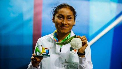 La marchista ganó medalla de plata en la modalidad de marcha en Río de Janeiro 2016 (Foto: Especial)
