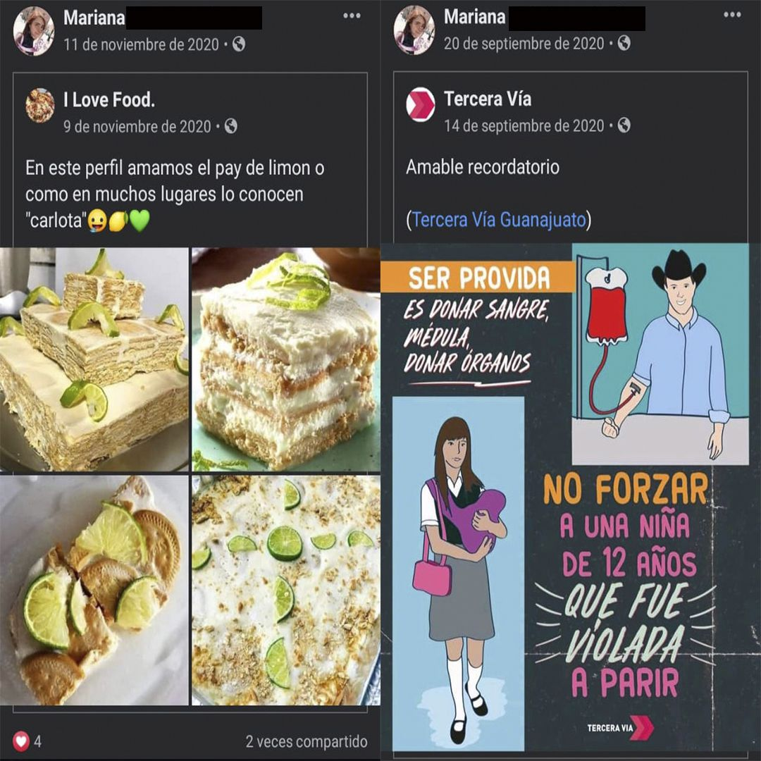 feminicidio de Mariana (Foto: Facebook perfil de Mariana)