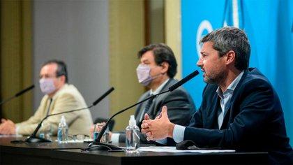 El anuncio del programa Repro II fue realizado por los ministros Tristán Bauer, Claudio Moroni y Matías Lammens