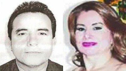 Los líderes de la célula criminal de los Cázares Salasa Víctor Cázares y Blanca Margarita (Foto: Especial)