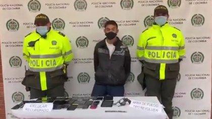 Capturan a sujeto que, en un solo día, se robó más de 30 celulares en Bogotá