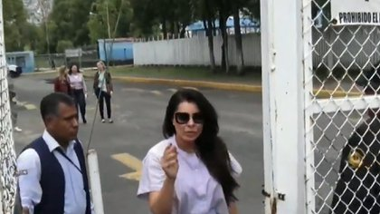Yadhira ha sido captada en múltiples ocasiones durante su visita conyugal en el Reclusorio Norte (Foto: Archivo)