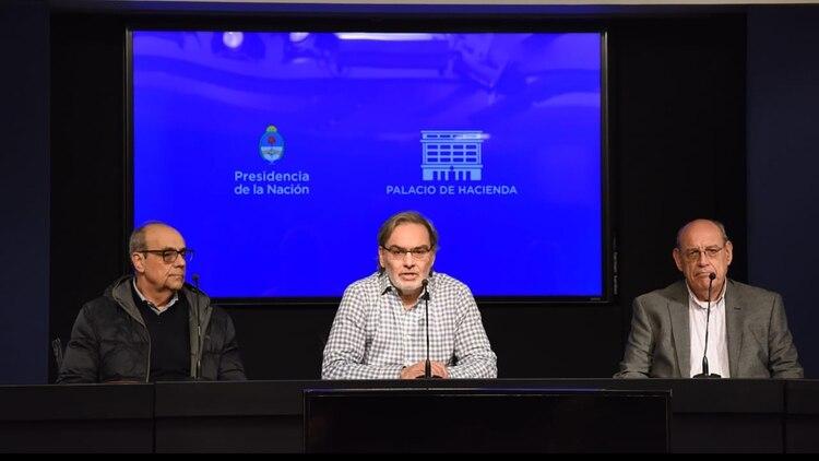 Carlos García Pereyra, Gustavo Lopetegui y Jorge Ruíz Soto
