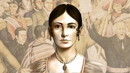 Leona Vicario donó parte de su fortuna al movimiento de independencia (Foto: Twitter@SCJN).