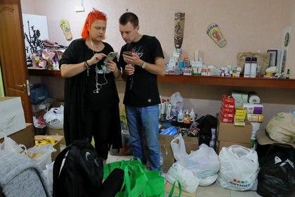 Activistas se organizan en Minsk en medio del bloqueo de redes en Bielorrusia (Reuters)
