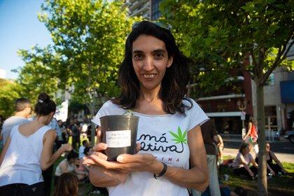 Valeria Salech, de Mamá Cultiva Argentina (Franco Fafasuli)