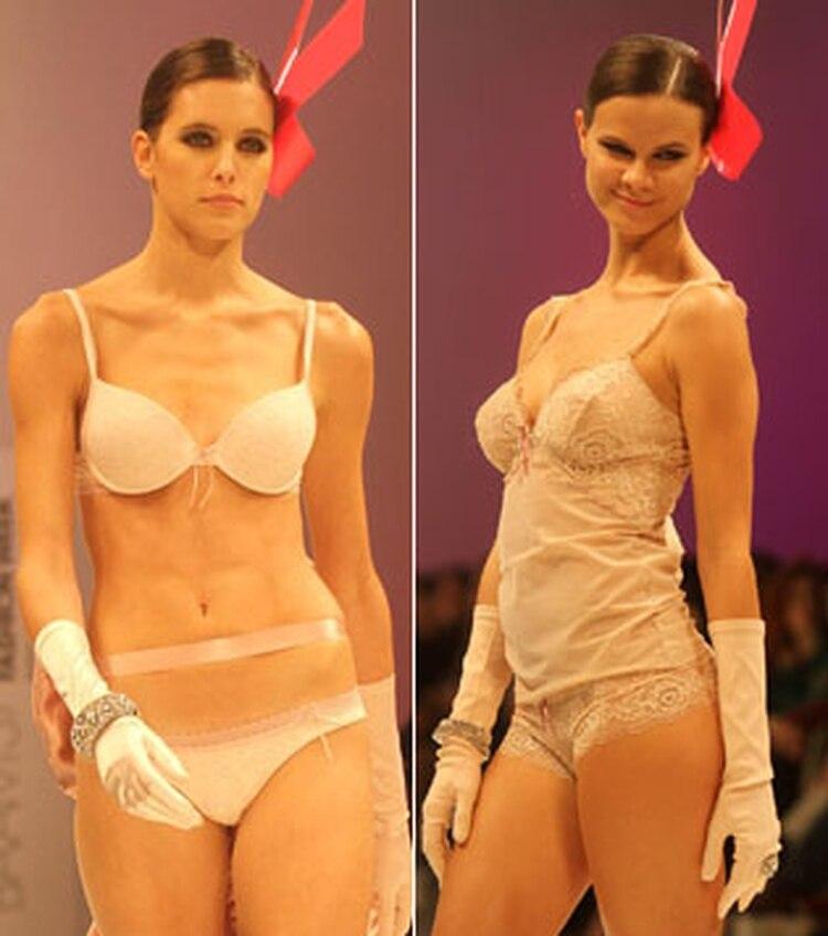 fa627a0383ef Araceli González presentó a sus diosas en ropa interior - Infobae