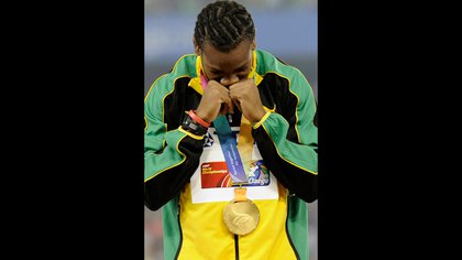 Blake se convirtió en campeón del mundo en los 100 metros en 2011 (AP)
