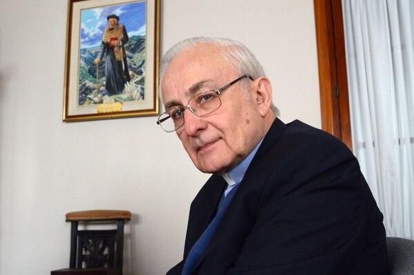 El arzobispo de Córdoba, Carlos Ñañez<br> Télam 162