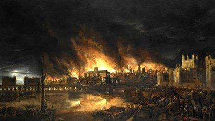 Durante tres días la ciudad de Londres ardió. Pese a la envergadura del siniestro, murieronseis personas.