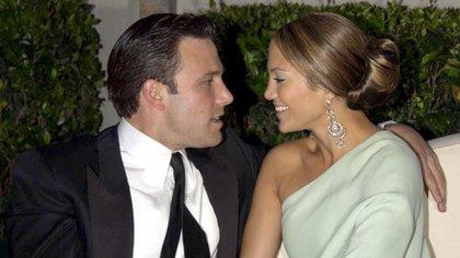 Ben Affleck y Jennifer Lopez (Shutterstock)