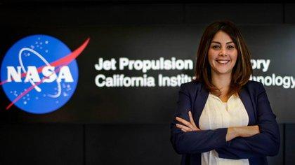 La Ingeniera Aerespacial, Diana Trujillo. Foto: Archivo Particular.