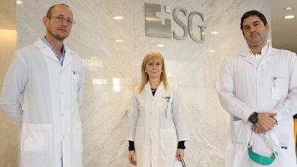 El suero fue testeado en el Sanatorio Güemes, cuyo tratamiento fue supervisado por los doctores Pablo Marchetti - Estela Izquierdo - Anselmo Bertetti / Credit Thomas Khazki
