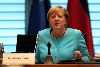 Angela Merkel (Michael Sohn/Pool via REUTERS)