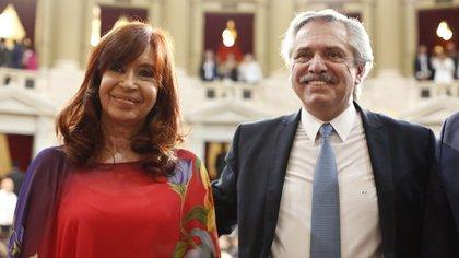 """Alberto Fernández consideró que Cristina Kirchner es """"víctima"""" de una """"mala justicia"""" (Foto: Prensa Senado)"""