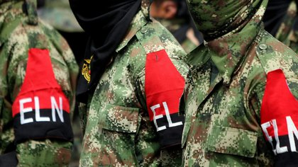 Guerrilleros del ELN (EFE/Christian Escobar Mora/Archivo)