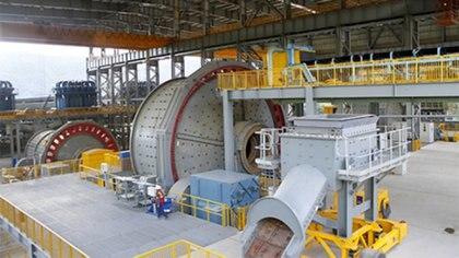 Mirador es la primera planta industrial de explotación minero a gran escala que se inauguró en Ecuador