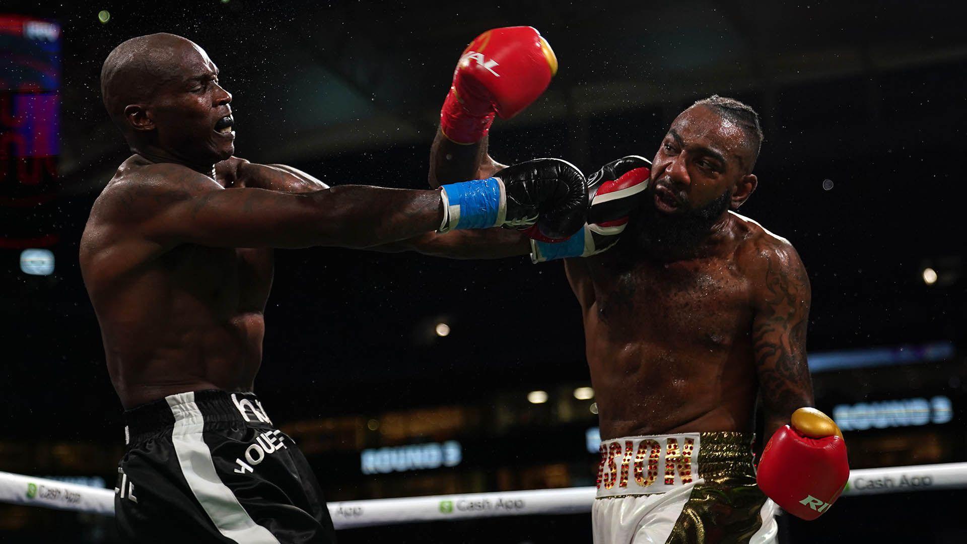 Boxing: Johnson vs Maxwell