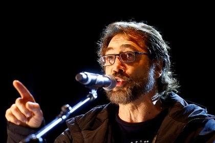 Javier Bardem fue uno de los principales oradores en la marcha en Madrid (REUTERS/Javier Barbancho)