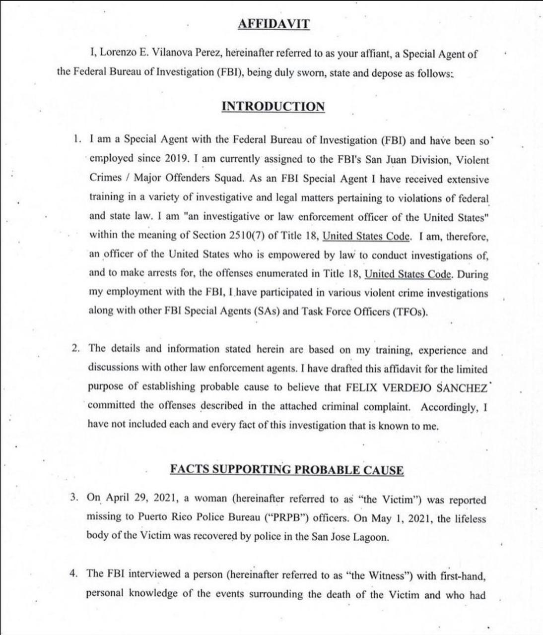 Félix Verdejo informe FBI 1