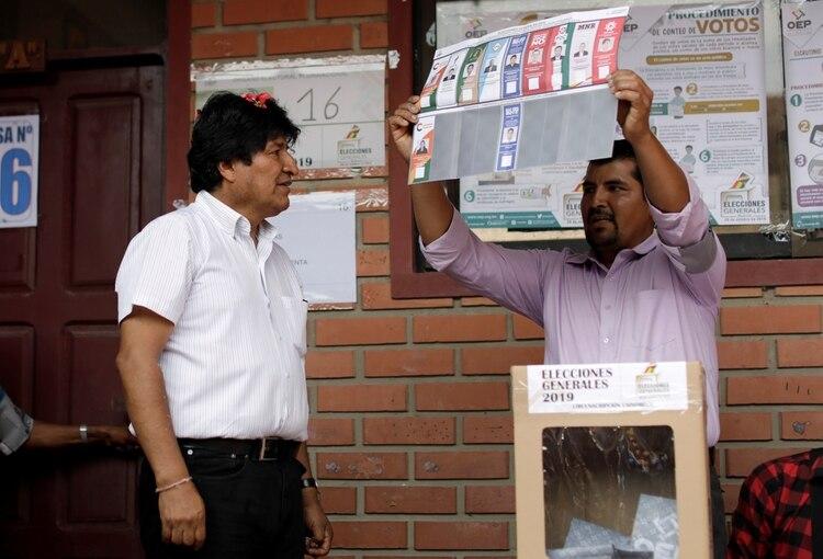 Evo Morales busca su cuarto mandato en Bolivia (REUTERS/Ueslei Marcelino)