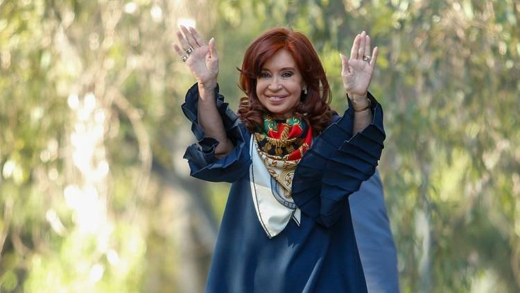 La vicepresidente electa Cristina Kirchner