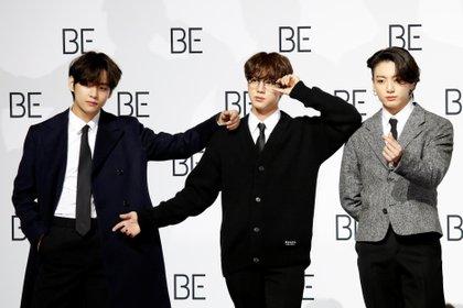 Los integrantes de BTS quisieron dar mensajes de solidaridad durante la pandemia con este nuevo disco que no estaba planeado Foto: REUTERS/Heo Ran