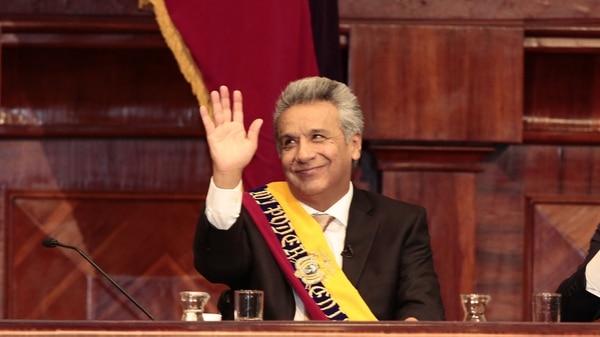 El nuevo presidente del Ecuador, Lenín Moreno(EFE/Jose Jacome)