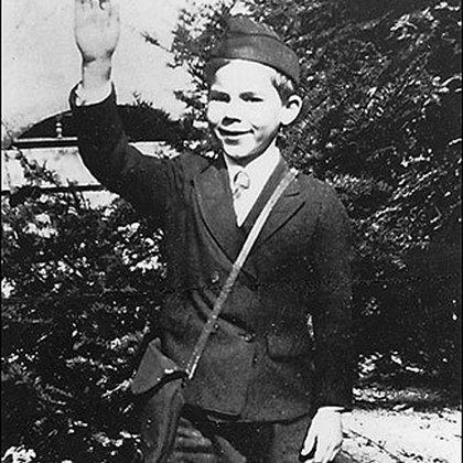Thompson a los 8 años