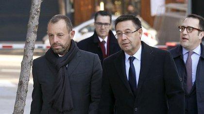 Gracias al acuerdo, Sandro Rosell y Josep Maria Bartomeu no deberán pagar la multa