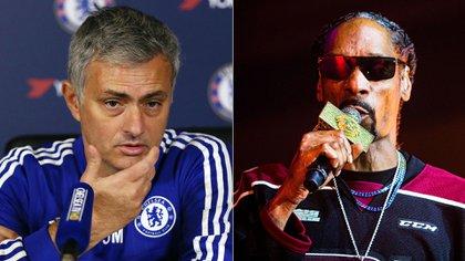 Un ex jugador del Chelsea contó que Mourinho realizó una fiesta con el popular rapero Snoop Dogg (Fotos: Shutterstock / Reuters)