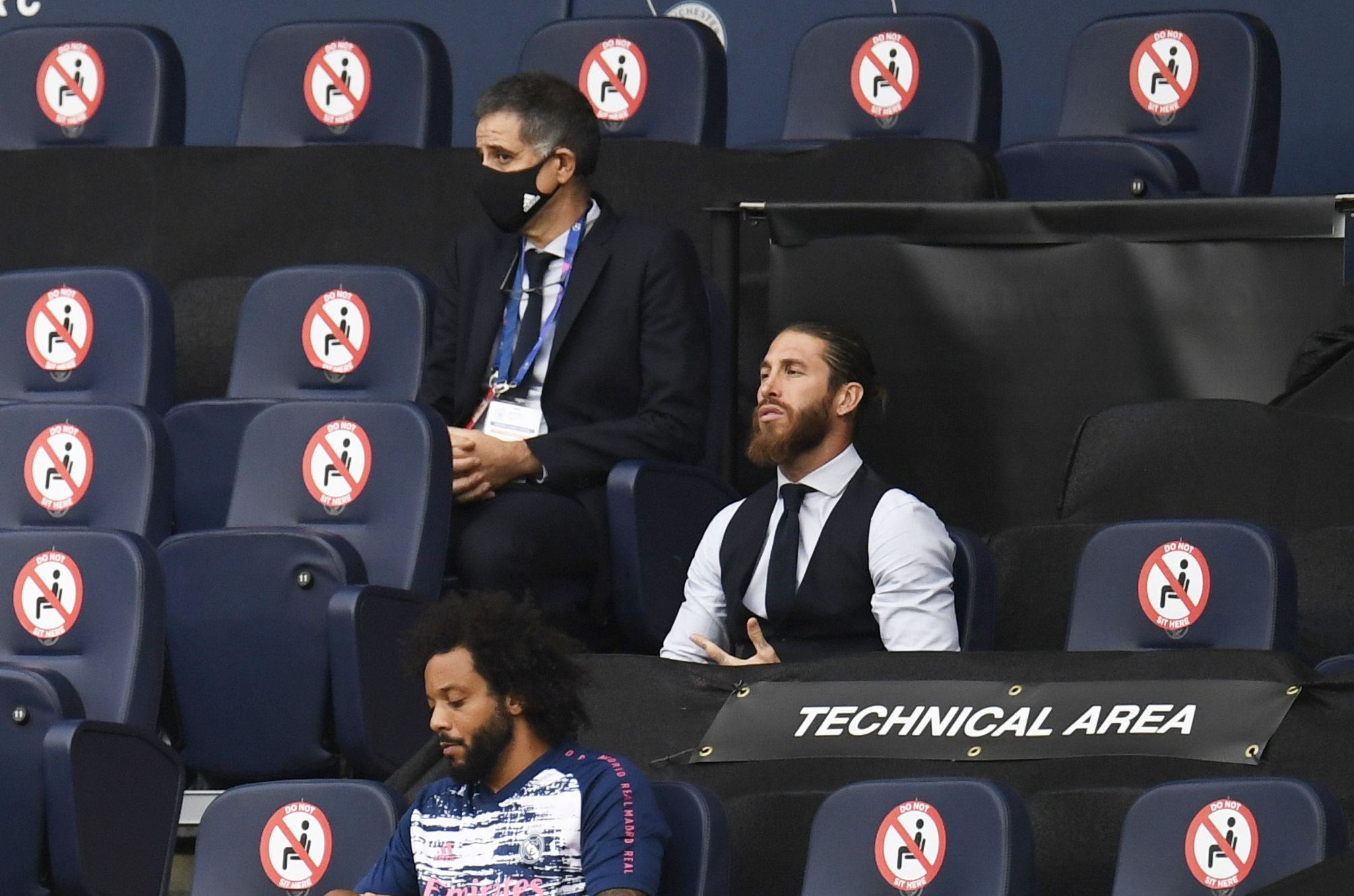 El capitán no pudo disputar el partido de vuelta - REUTERS/Peter Powell