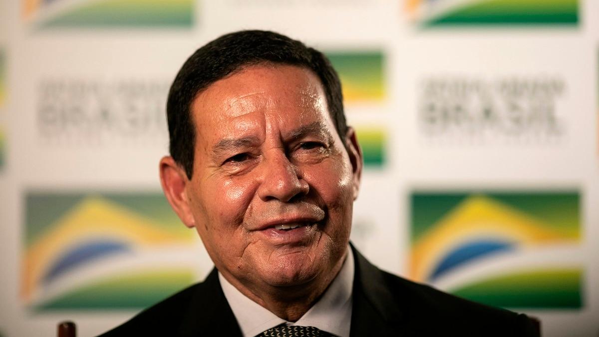 Image result for Hamilton Mourão vice president