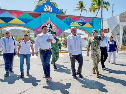 El Proyecto Integral Islas Marías en la Isla Madre concluyó su primera etapa de rehabilitaciones (Foto: Presidencia de México)