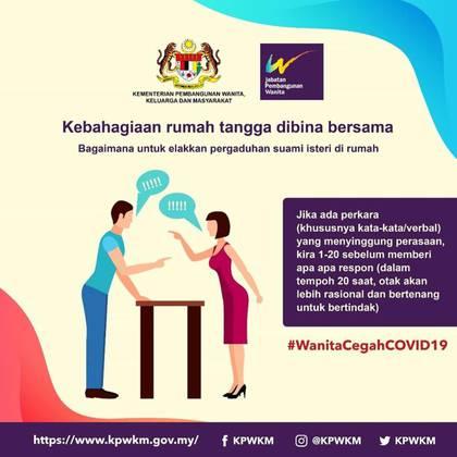 La campaña instaba a las mujeres a evitar discusiones, sin mencionar el rol de los hombres