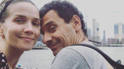 Natalia Oreiro le deseó un feliz cumpleaños a Ricardo Mollo con tres románticas imágenes (Foto: Instagram)