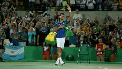 LA madre de Djokovic reveló que la derrota que más le dolio a su hijo fue en los JJOO de Río ante Del Potro (Nicolás Stulberg)