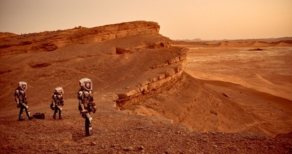 """El """"planeta rojo"""" es el gran sueño espacial de los astronautas"""
