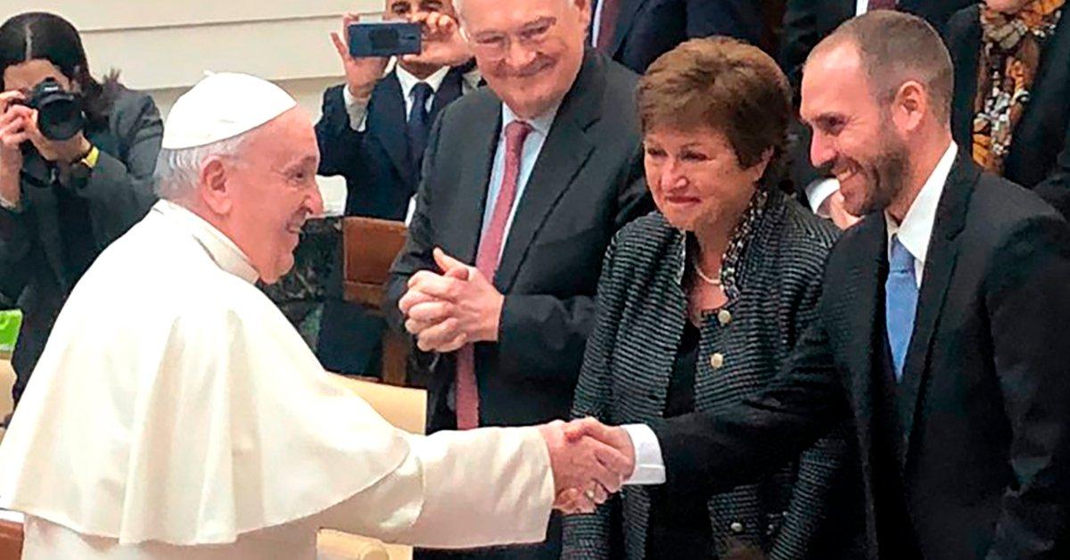 Pope Francis will receive Martín Guzmán tomorrow
